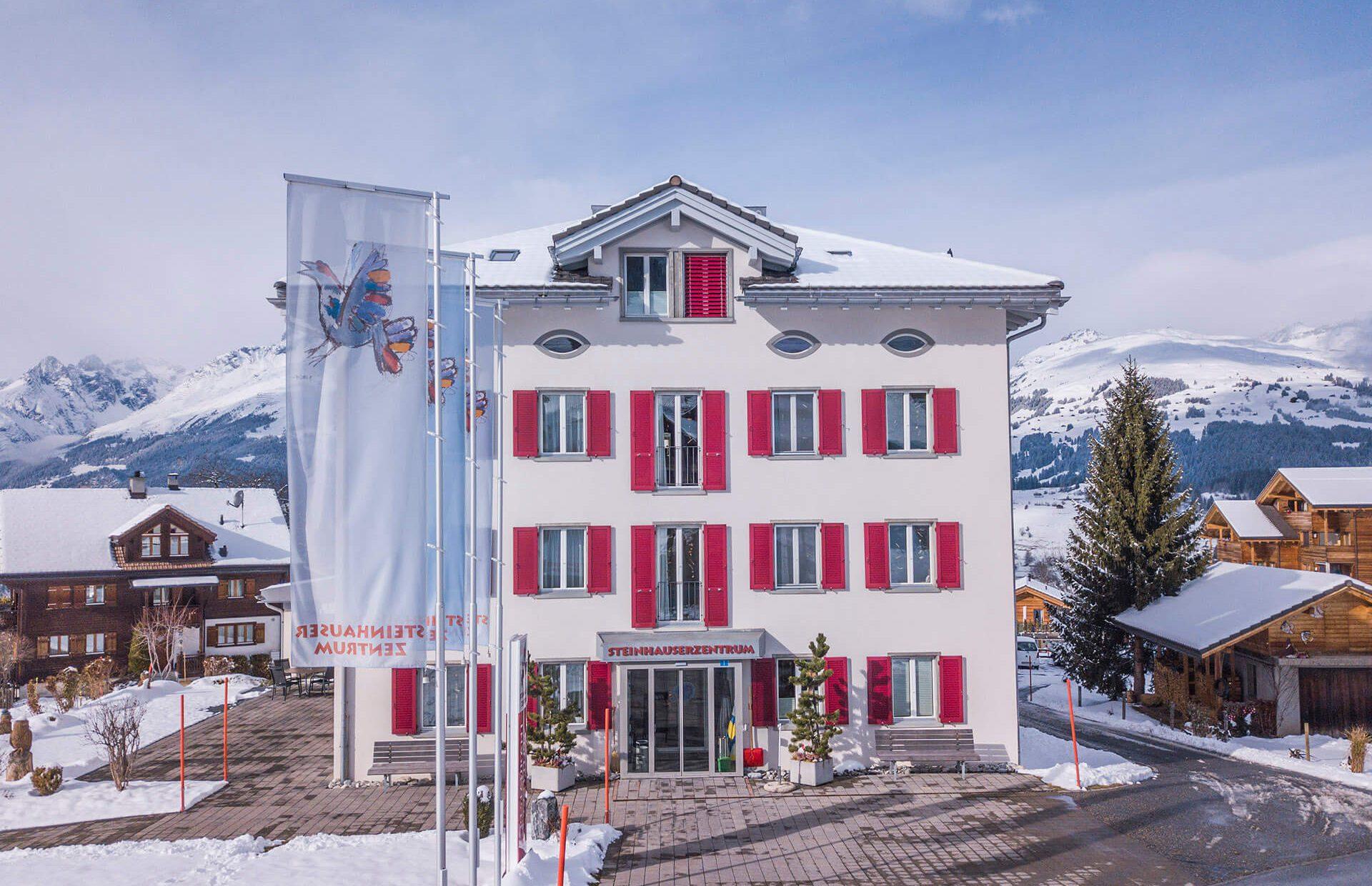Steinhauser Zentrum Winter