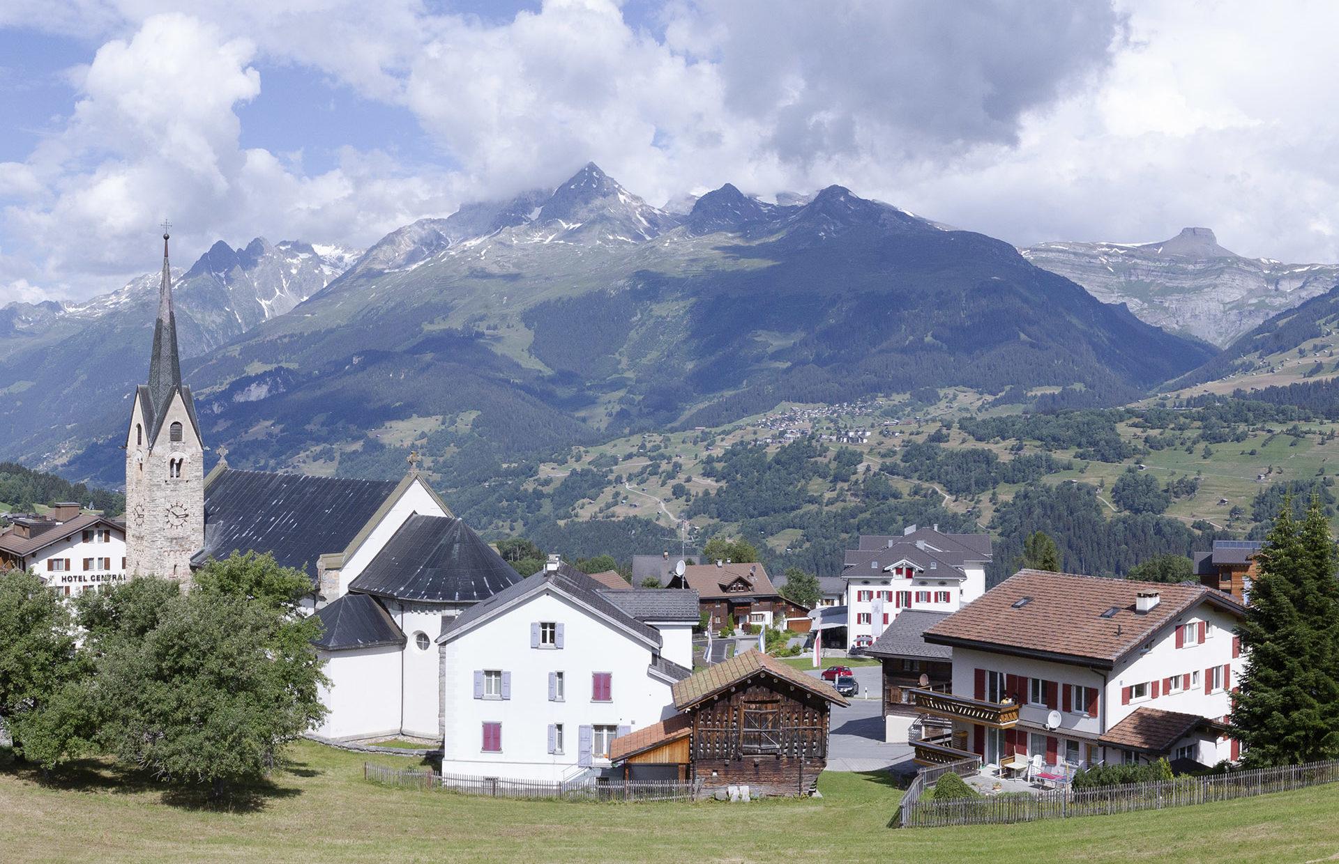 Panorama Obersaxen